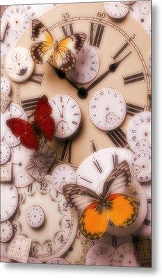 Time Flies Metal Print by Garry Gay