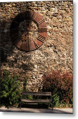 Time Passes Metal Print by Rae Tucker