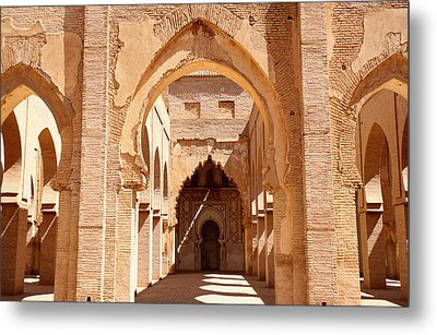 Tin Mal Mosque Metal Print by Axiom Photographic