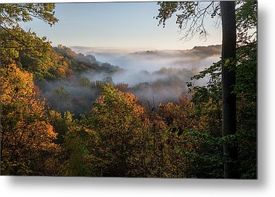 Metal Print featuring the photograph Tinkers Creek Gorge Overlook by Dale Kincaid