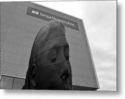 Metal Print featuring the photograph Tampa Museum Of Art Work B by David Lee Thompson