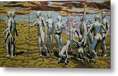 To Dance Metal Print by Leo Mazzeo