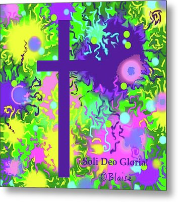 To God Be The Glory Metal Print
