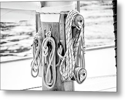 To Sail Or Knot Metal Print by Greg Fortier