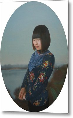 To Xiu Pan Metal Print by Weiyu Xia