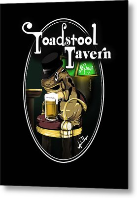 Toadstool Tavern  Metal Print