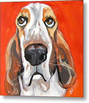 Toby Metal Print by Barbara O'Toole