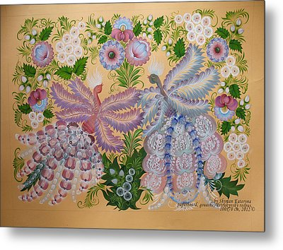 Together Metal Print by Kateryna Wiman