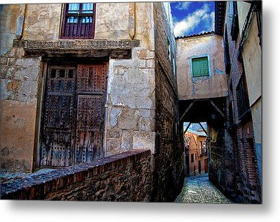 Metal Print featuring the photograph Toledo Passage  by Harry Spitz