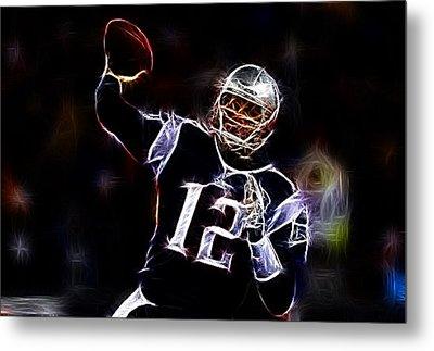 Tom Brady - New England Patriots Metal Print by Paul Ward