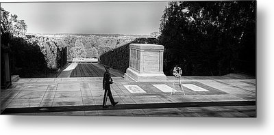 Tomb Of The Unknown Metal Print