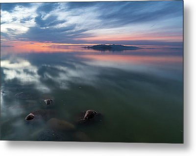 Tonal Sunset Metal Print by Justin Johnson