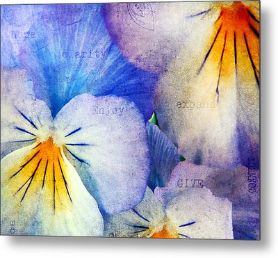 Tones Of Blue Metal Print