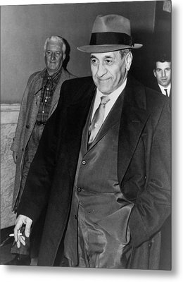 Tony Accardo, Successor Of Al Capone Metal Print by Everett
