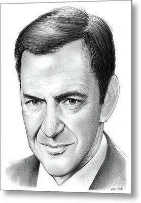 Tony Randall Metal Print by Greg Joens