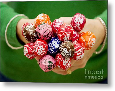 Tootsie Pop  Metal Print by Kim Fearheiley