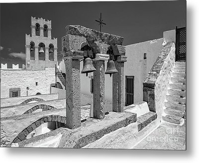 Top Of The Monastery Metal Print