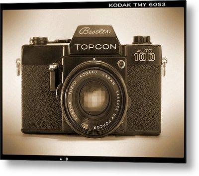 Topcon Auto 100 Metal Print by Mike McGlothlen