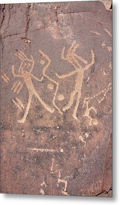 Toro Muerto Petroglyph 46 Metal Print