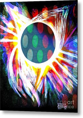 Total Eclipse Digital Metal Print