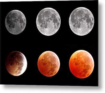 Total Eclipse Of Heart Sequence Metal Print by Joannis S Duran / Freelance Photographer