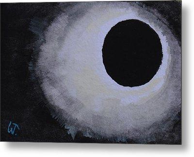 Total Solar Eclipse Metal Print