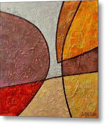 Metal Print featuring the mixed media Touch by Dragica  Micki Fortuna