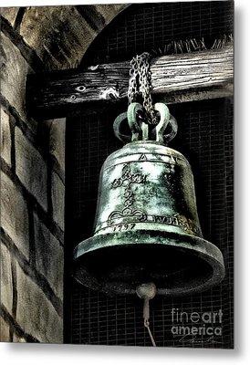Tower Bell Metal Print