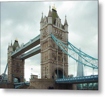Tower Bridge London Metal Print by Sonja Quintero