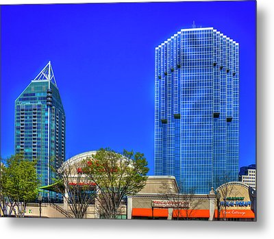 Tower Place 100 Buckhead Atlanta Art Metal Print by Reid Callaway
