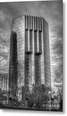 Tower Place 2 Buckhead Office Tower Art Metal Print by Reid Callaway