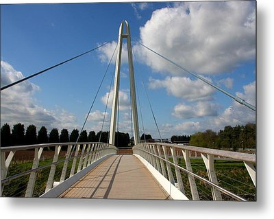 Towering Bridge Metal Print