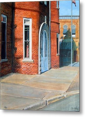 Town Hall Metal Print by William  Brody