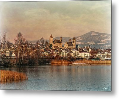 Metal Print featuring the photograph Town Of Roses by Hanny Heim