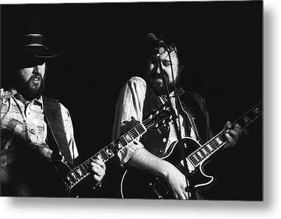 Toy And George In Spokane Metal Print