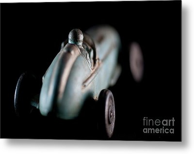 Toy Race Car Metal Print by Wilma Birdwell
