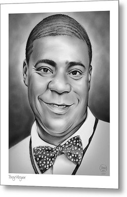 Tracy Morgan Metal Print by Greg Joens
