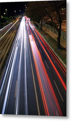 Traffic Lights Metal Print by Carlos Caetano