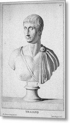 Trajan (c52-117) Metal Print
