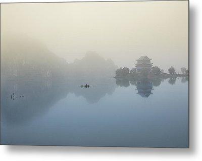 Vietnam - Tranquil Pagoda Metal Print