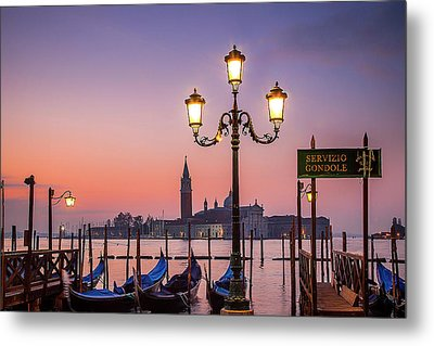 Metal Print featuring the photograph Tranquil Venice by Andrew Soundarajan