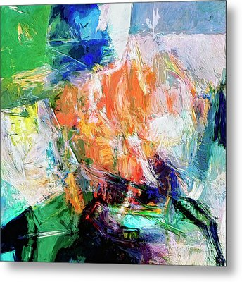 Metal Print featuring the painting Transformer by Dominic Piperata