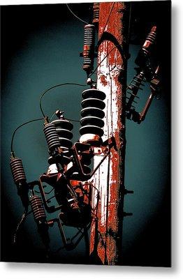 Transformers Two Metal Print by Beth Akerman