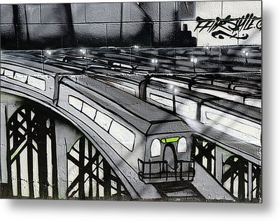 Transporters Metal Print by Bob Christopher