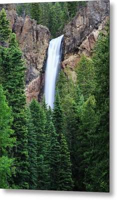 Metal Print featuring the photograph Treasure Falls by David Chandler