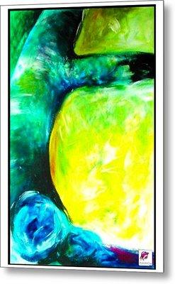 Metal Print featuring the painting Tree 2 Peninsula Rain Forest by Carol Rashawnna Williams