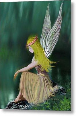 Tree Fairy Metal Print