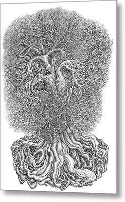 Tree Metal Print by Joe MacGown