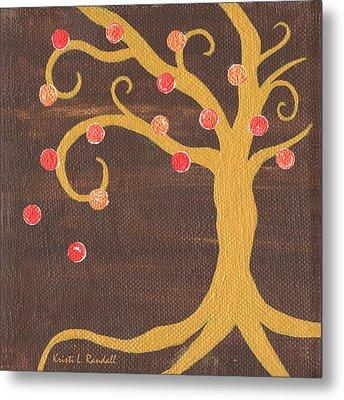 Tree Of Life - Right Metal Print by Kristi L Randall