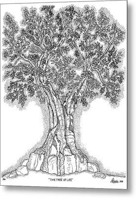 Tree Of Life 1 Metal Print by Glenn McCarthy Art and Photography